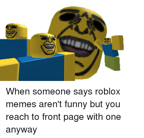 Funny Roblox Memes