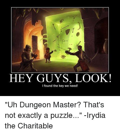Dungeon Master Memes