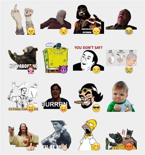 Telegram stickers Memes
