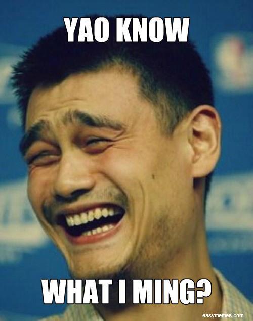Yao ming Memes