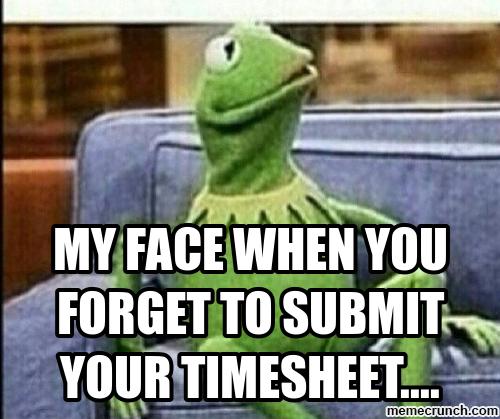 Timesheet Reminder Memes