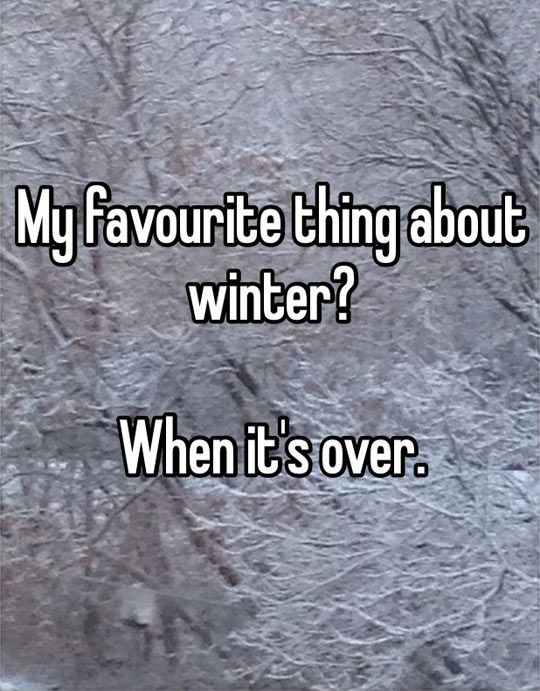 I hate winter Memes
