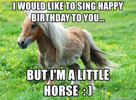 17 Best Happy Birthday Horse Meme