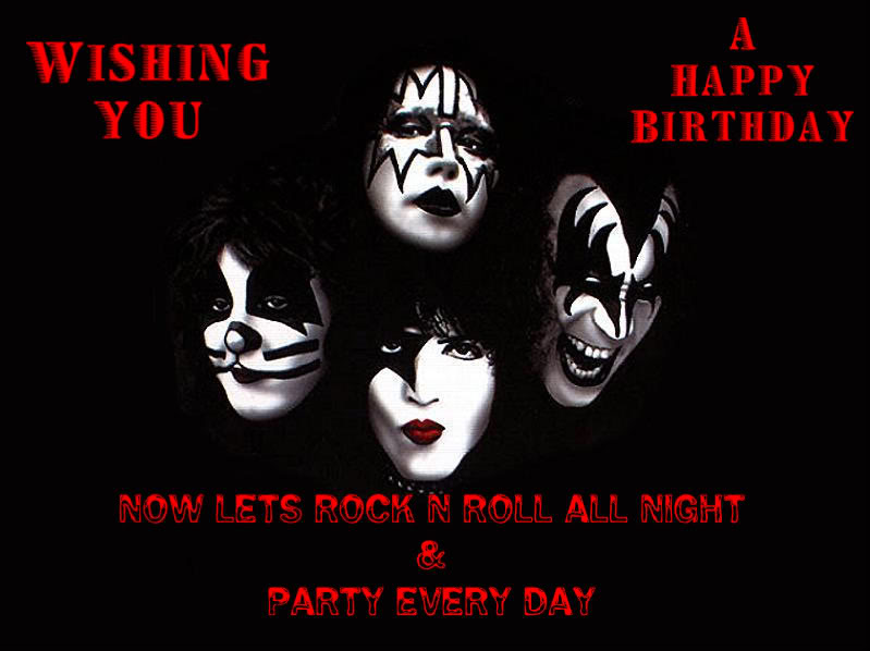 rock and roll birthday memes