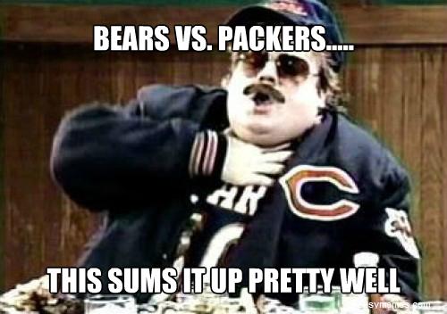 Bears Vs Packers Funny Memes