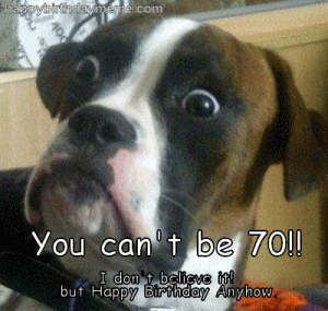 Happy 70th Birthday Memes