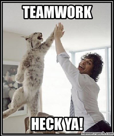 Teamwork Memes The beginning of the week confusion. teamwork memes