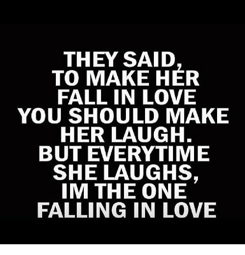 Falling In Love Memes