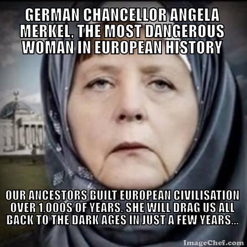 Merkel Meme Deutsch