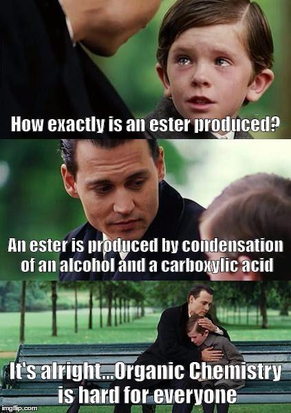 Funny organic chemistry Memes