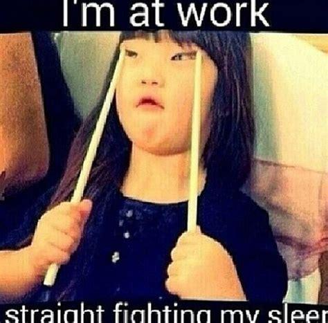 Falling Asleep At Work Memes