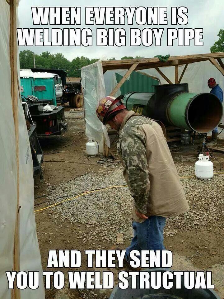 Pipeline Welder Memes
