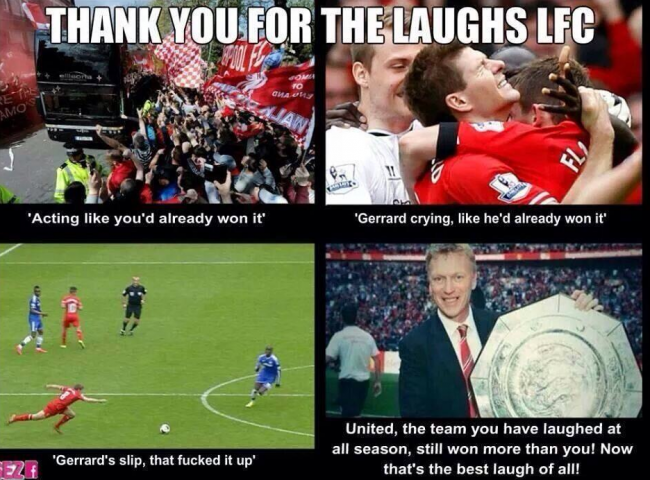 Manchester United Vs Liverpool Memes