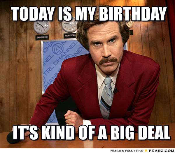 My Birthday Memes