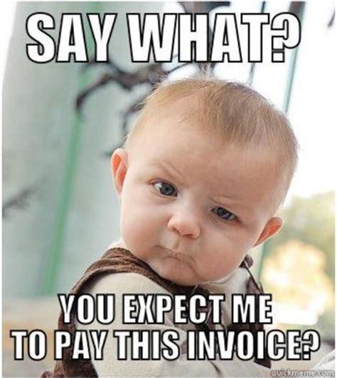 Invoice Memes