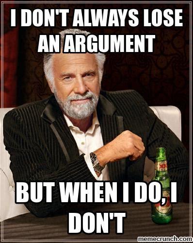 Bilderesultater for argue meme
