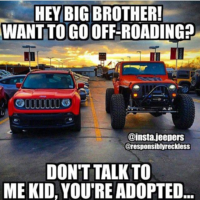 Jeep Renegade Memes