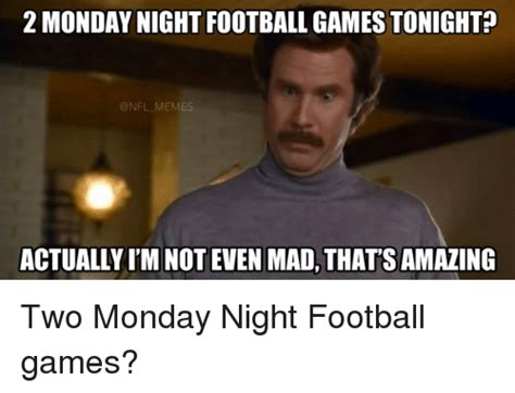 Monday Night Football Memes