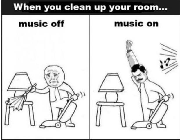 Funny house cleaning Memes