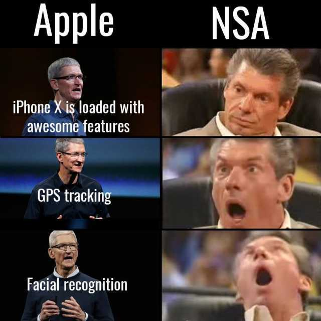 Iphone face recognition Memes