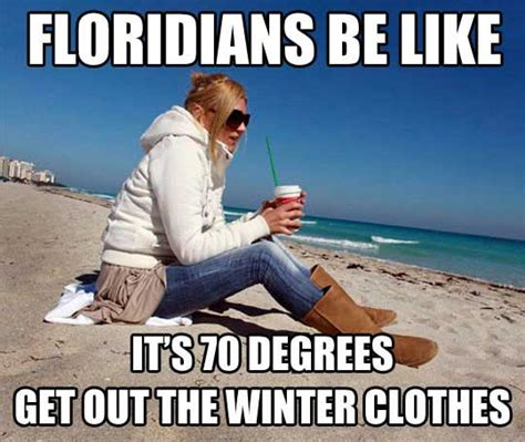 Florida Cold Weather Memes