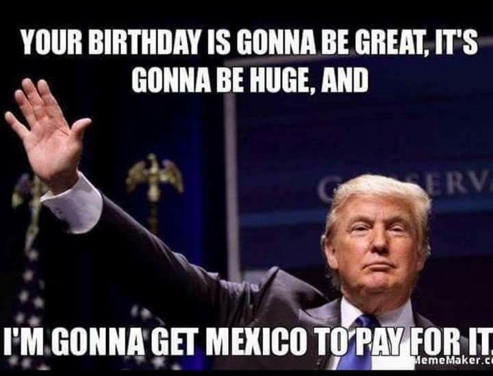 Funny Political Birthday Memes