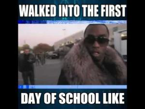 First Day Of School Funny Memes
