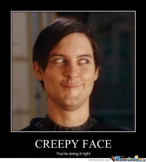 scary meme face