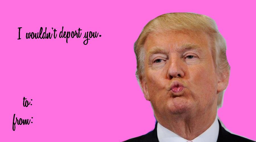 Donald Trump Valentines Memes