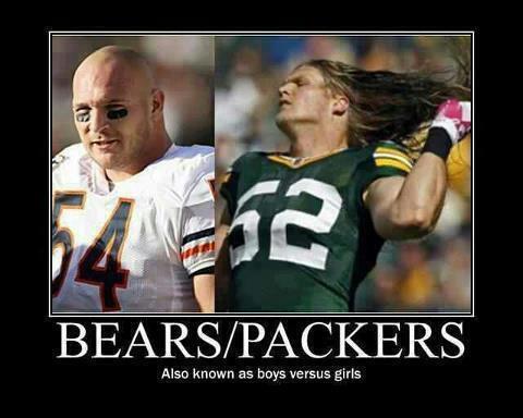 Bears Packers Memes