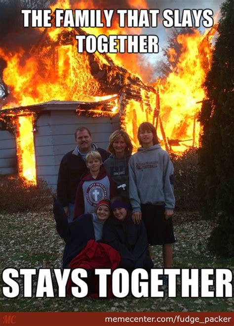 Dog burning house Memes