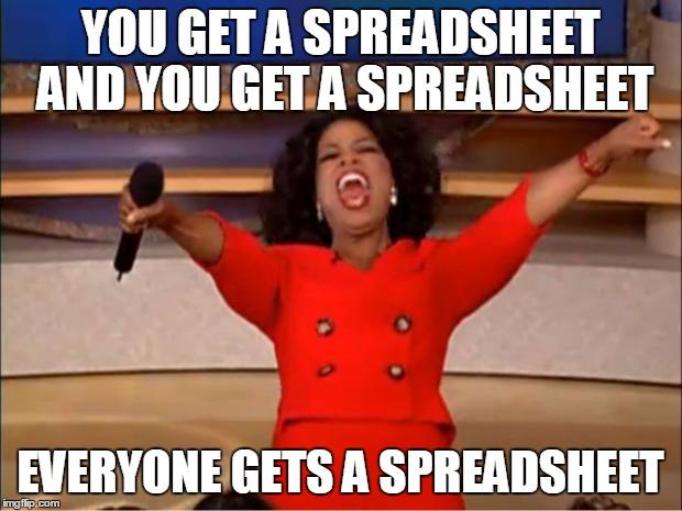 spreadsheet memes