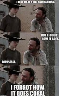 Coral Walking Dead Memes