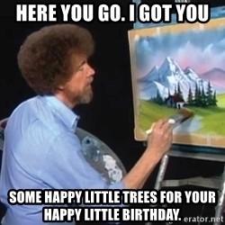 Bob Ross Birthday Memes