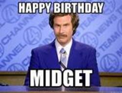Happy Birthday Midget Memes