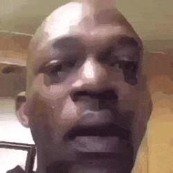 Black man crying Memes