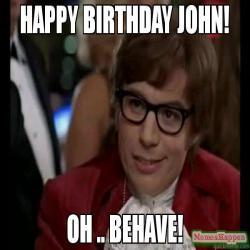Happy Birthday John Memes